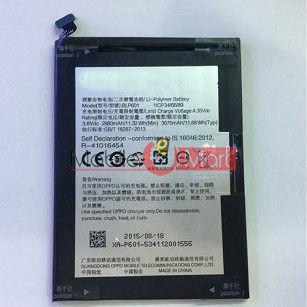 Mobile Battery For Oppo A71 black