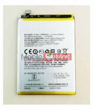 Mobile Battery For Oppo A83 black