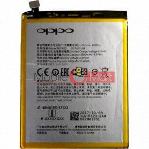 Mobile Battery For OPPO F3 Plus black