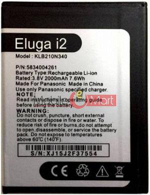 Mobile Battery For Panasonic Eluga I2 black