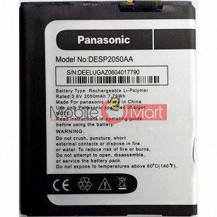 Mobile Battery For Panasonic Eluga Z black