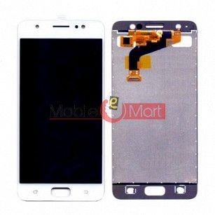 Lcd Display With Touch Screen Digitizer Panel Combo Folder Glass For Tecno i3 (White)