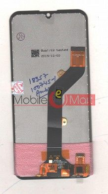 Lcd Display With Touch Screen Digitizer Panel For Tecno Spark Go KC1