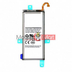 Mobile Battery For Samsung Galaxy J6 black