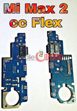 Charging Connector Port Flex Cable For Xiaomi Mi Max 2