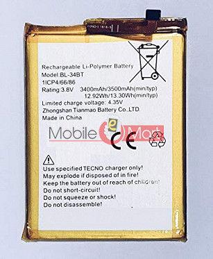 Mobile Battery For Tecno Spark Power 2