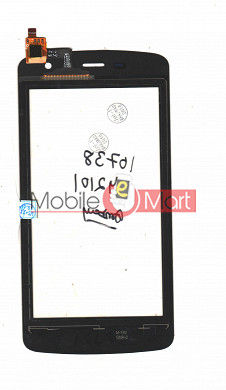 Touch Screen Digitizer For Intex Cloud Glory 4G