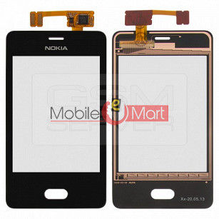 Touch Screen Digitizer For Nokia Asha 501 (Rm 900)