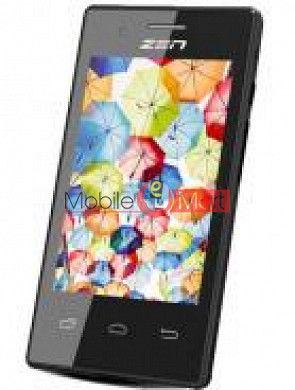 Touch Screen Digitizer For Zen Ultrafone 105 Plus