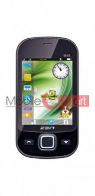 Touch Screen Digitizer For Zen Flikk M45