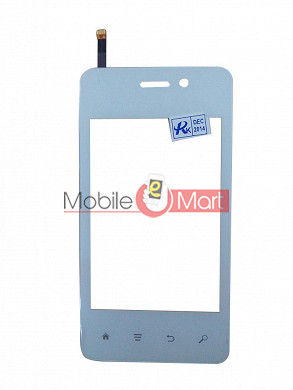 Touch Screen Digitizer For Spice Smart Flo Mettle 3.5x Mi356