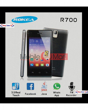 Touch Screen Digitizer For Rokea R700