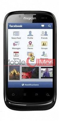 Touch Screen Digitizer For Magicon M1 - Black