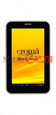 Touch Screen Digitizer For Croma CRXT1134