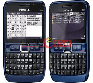 Faceplate Housing Body for Nokia E63  Blue