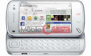 Mobile Phone Body Panel for Nokia N97 White