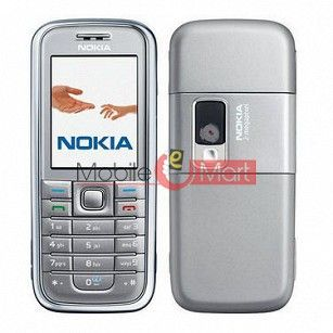 Rissachi Body Panel Housing For Nokia 6233i - Silver White
