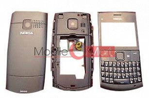 Full Body Panel Faceplate Housing For Nokia X2-01 Mobile Phone