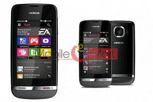 Full Body Housing Panel Faceplate For Nokia Asha 311 Mobile Phone