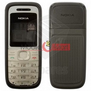Full Body Panel Nokia 1208 Mobile Phone Housing Fascia Faceplate