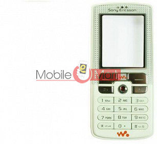 Faceplate Panel Housing For Sony Ericsson W800 White