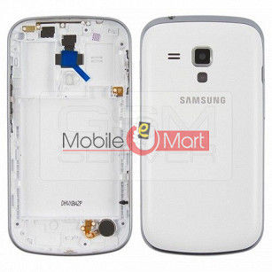 Android Back Panel With Chrome Border For Samsung Galaxy C Duos s7562