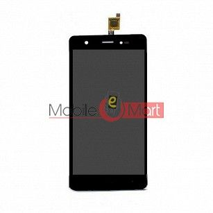 Lcd Display+Touch Screen Digitizer Panel For Lava P7