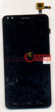 Lcd Display+Touch Screen Digitizer Panel For Karbonn Titanium Mach Five