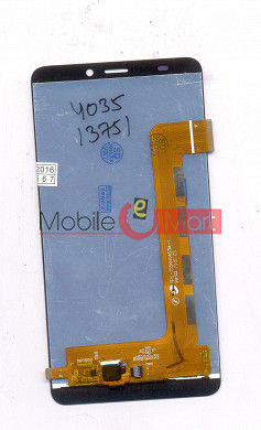Lcd Display+Touch Screen Digitizer Panel For Micromax Canvas Mega 4G Q417