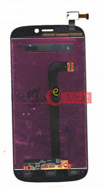 Lcd Display+Touch Screen Digitizer Panel For Micromax A300 Canvas Gold