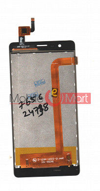Lcd Display With Touch Screen Digitizer Panel For Intex Aqua Lions 4G