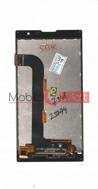 Lcd Display With Touch Screen Digitizer Panel For Intex Cloud String v2.0