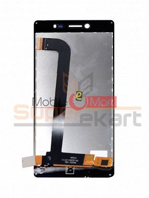 Lcd Display With Touch Screen Digitizer Panel For Intex Aqua Power M