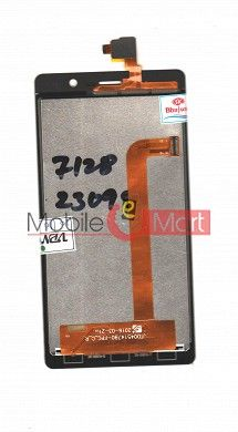 Lcd Display With Touch Screen Digitizer Panel For Intex Aqua Secure