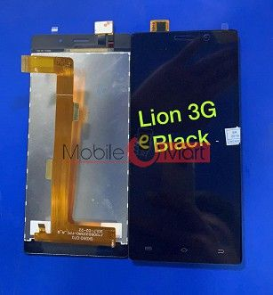 Lcd Display+Touch Screen Digitizer Panel For Intex Aqua Lions 3G