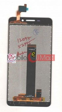 Lcd Display+Touch Screen Digitizer Panel For Intex Aqua Star 4G