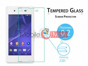 Sony Xperia E3 Tempered Glass Scratch Gaurd Screen Protector Toughened Protective Film
