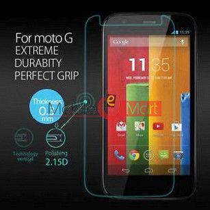 Motorola Moto G Tempered Glass Scratch Gaurd Screen Protector Toughened Protective Film