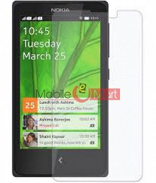 Nokia X Tempered Glass Scratch Gaurd Screen Protector Toughened Protective Film