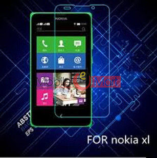 Nokia XL Tempered Glass Scratch Gaurd Screen Protector Toughened Protective Film