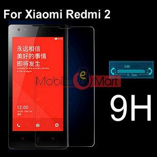 Xiaomi RedMi 2 Tempered Glass Scratch Gaurd Screen Protector Toughened Protective Film