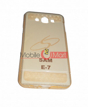 Fancy Mobile Back Cover For Samsung E7