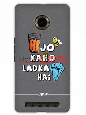 Fancy 3D Ladka Heera Hai Mobile Cover For Micromax Yuphoria
