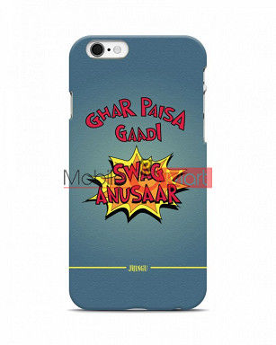 Fancy 3D Swag Anusaar Mobile Cover For Apple Iphone 6 Plus