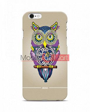 Fancy 3D Designer Owl Mobile Cover For Apple Iphone 6 Plus