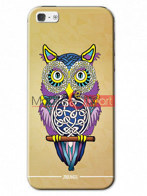 Fancy 3D Designer Owl Mobile Cover For Apple IPhone 5 & IPhone 5s
