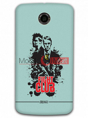 Fancy 3D Fight Club Mobile Cover For Google Nexus 6