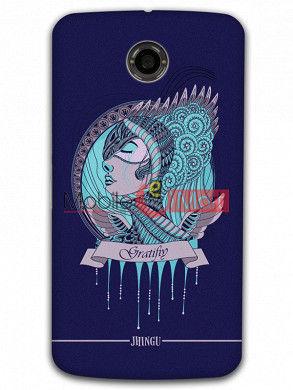 Fancy 3D Warrior Princess Mobile Cover For Google Nexus 6