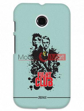 Fancy 3D Fight Club Mobile Cover For Motorola Moto E