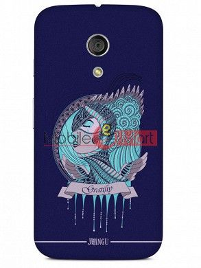 Fancy 3D Warrior Princess Mobile Cover For Motorola Moto G
